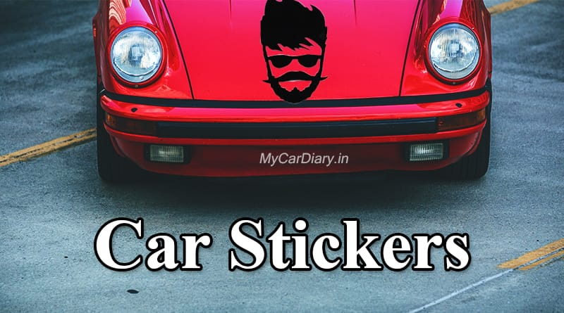 Best car stickers in India
